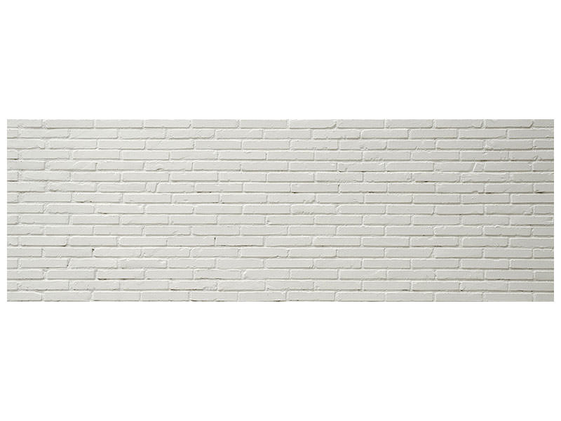 Panoramic Canvas Print Clinker bricks