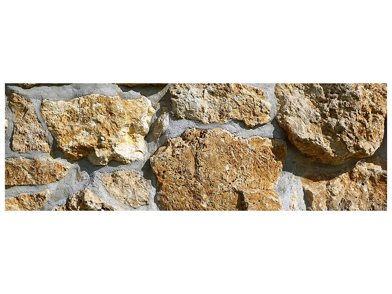 Panoramic Canvas Print XL stones