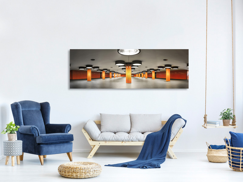 Panoramic Canvas Print On Stage 2