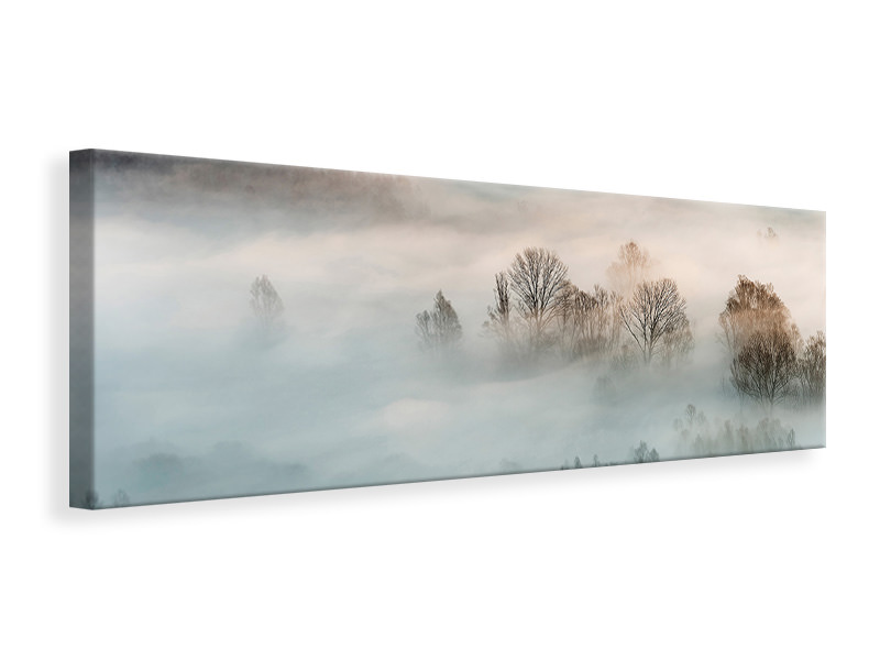 Panorama Canvastaulu Winter Fog