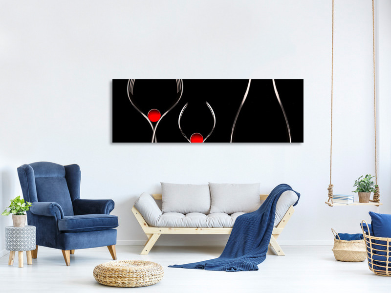 Panoramic Canvas Print Fork