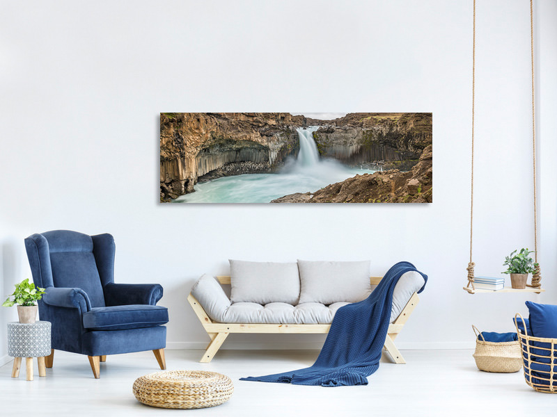 Panoramic Canvas Print Power A
