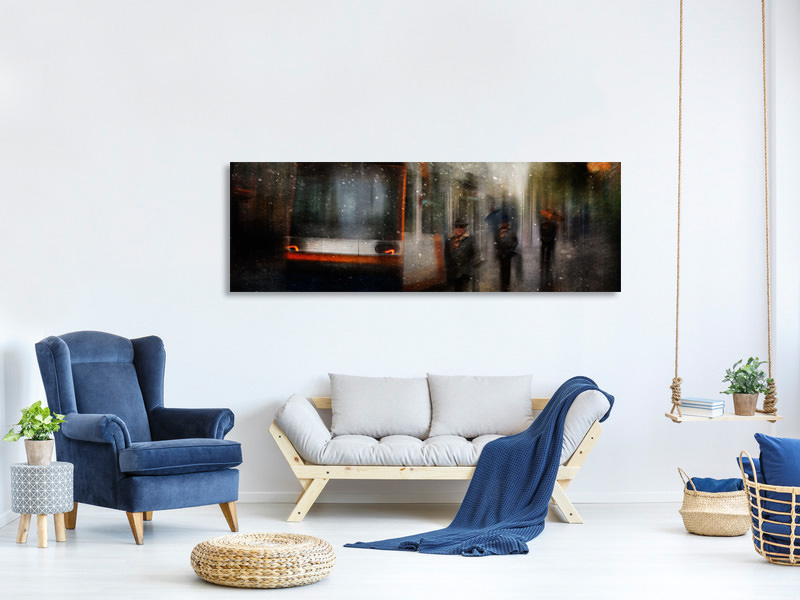 Panoramic Canvas Print And Nobody Seems To Know Where You Go