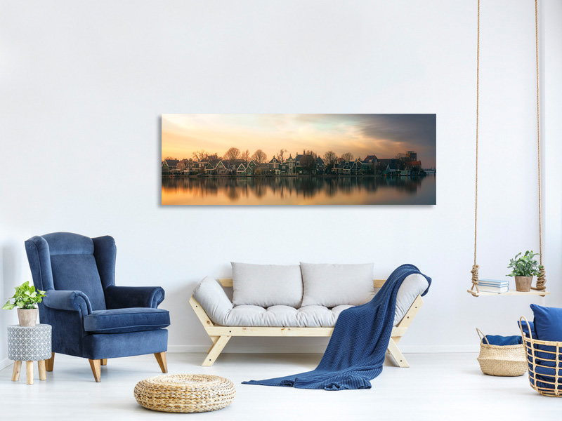 Panoramic Canvas Print Netherlands Somewhere