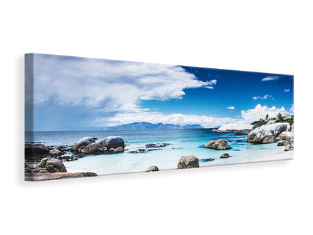 Panoramic Canvas Print Island Feeling