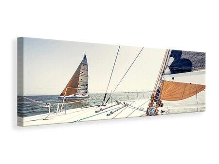 Panoramic Canvas Print Yacht
