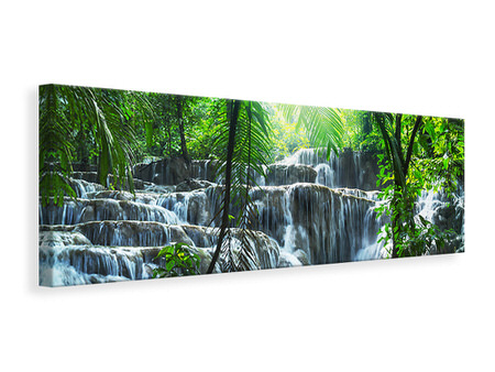 Panoramic Canvas Print Waterfall Agua Azul