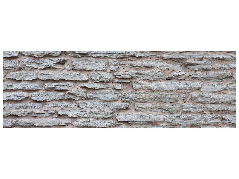 Panoramic Canvas Print Stone Wall