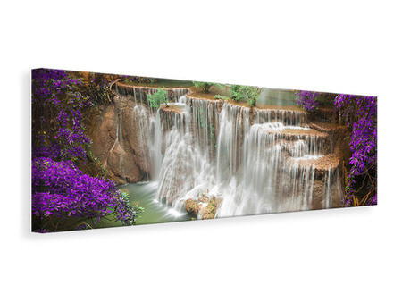 Panoramic Canvas Print Photowallpaper Garden Eden