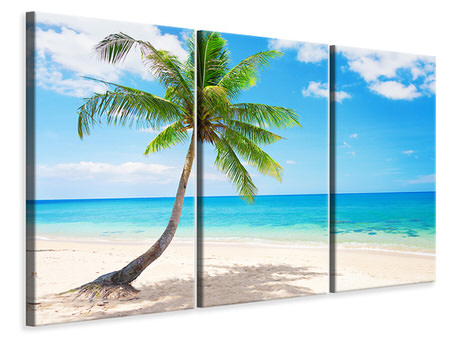 3 Piece Canvas Print Koh Lanta