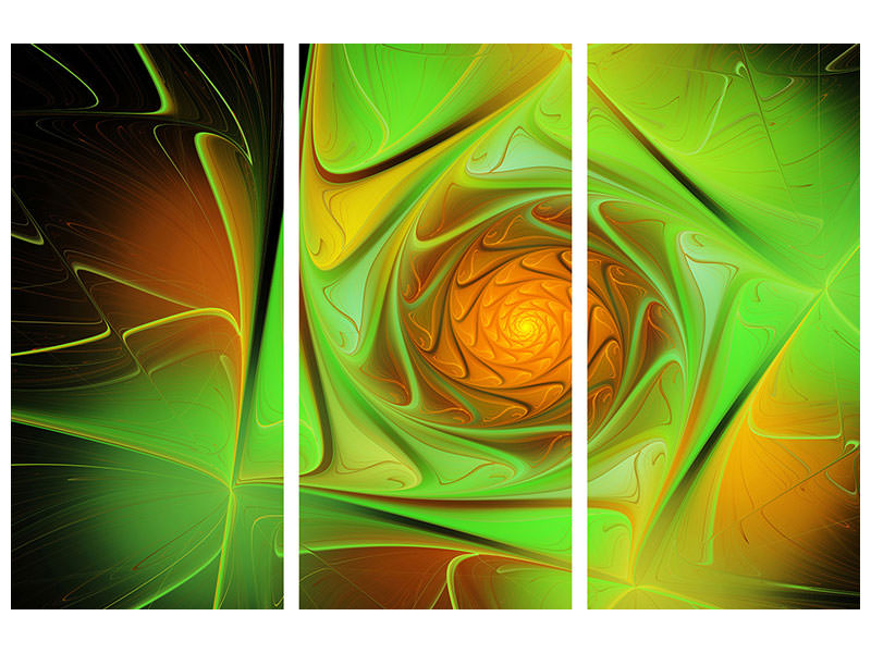 3 Piece Canvas Print Abstractions