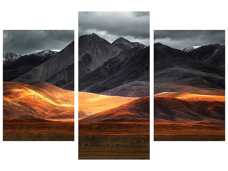 Modern 3 Piece Canvas Print Pano