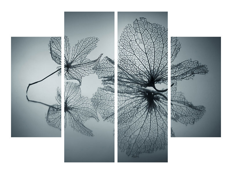 4 Piece Canvas Print Ephemeral Beauty