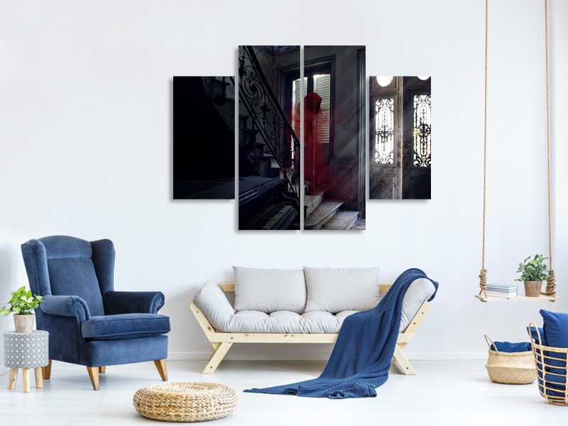 4 Piece Canvas Print The Last Song