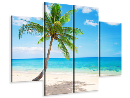 4 Piece Canvas Print Koh Lanta