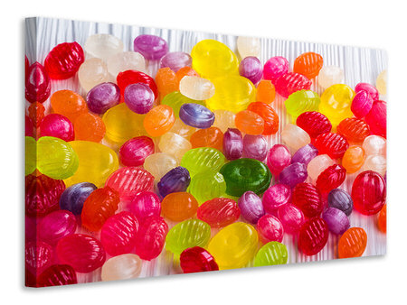 Canvas print Colorful sweets