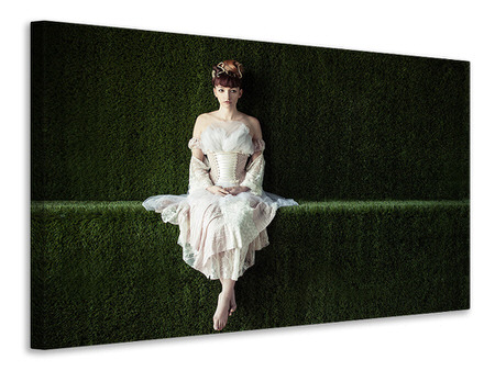 Canvas print Alone In Wonderland