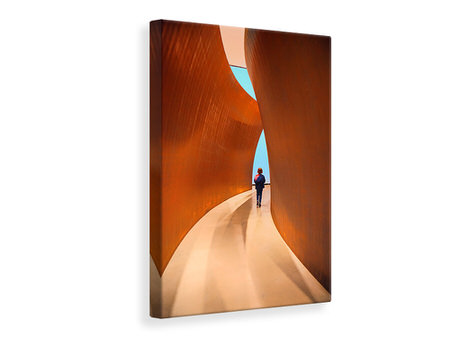 Canvas print The Narrow Passage