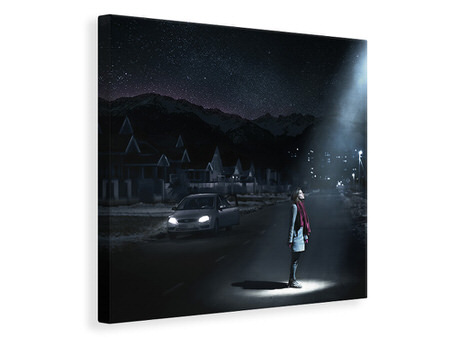 Canvas print The Universe Is Near