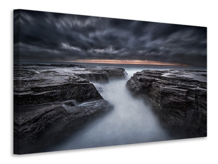 Canvas print The Darkness Before Dawn