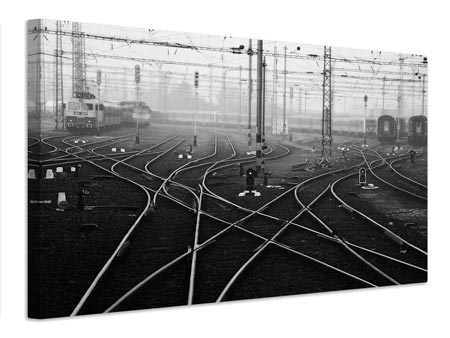 Canvas print Im a november passenger