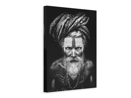Canvas print Face The Sadhu