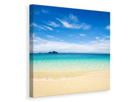 Canvas print Blue Lagoon & Sky