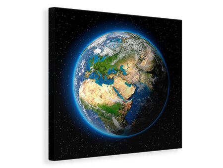 Canvas print The Earth As A Planet