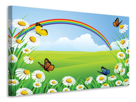 Canvas print The Colorful Rainbow