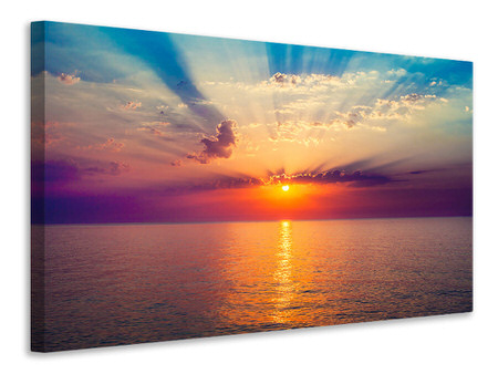 Canvas print Mystic Sunrise