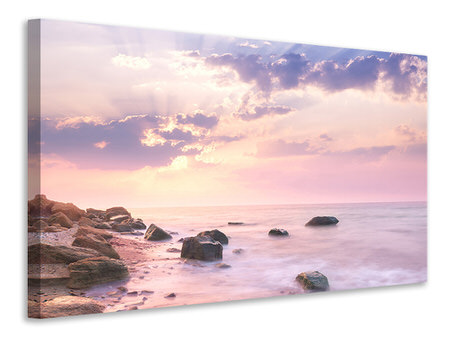 Canvas print Sunrise At Sea