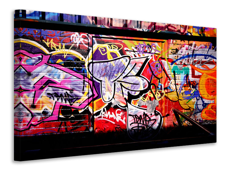 Canvas print Graffiti Wall Art