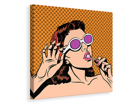 Canvas print Pop Art Lollipop